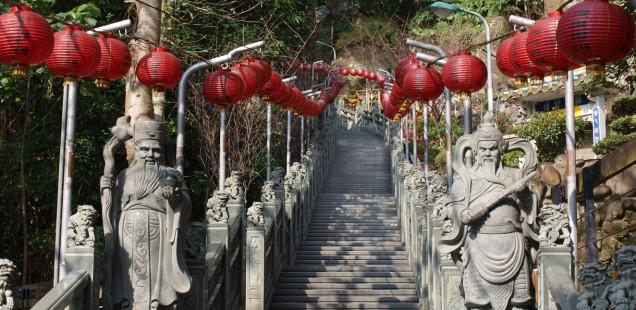 Taiwan - Ein Tag in Taipei - Vier Tempel und ein Mini-Museum