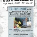 Rostock: GlobalLokal-Talk über Community Radios in Indonesien