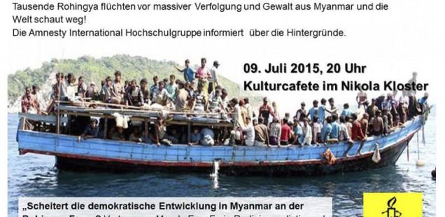 Die Flüchtlinge in den Meeren Südostasiens